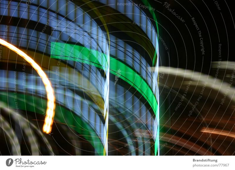Big City Lights (not Scorpions) Stadt Lampe Hintergrundbild modern Technik & Technologie technisch geschmackvoll