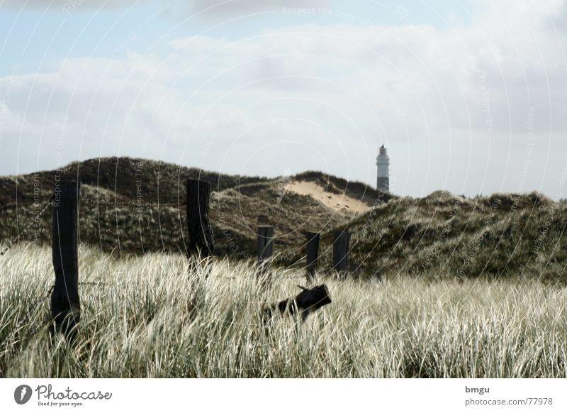 Wüste Natur Himmel Meer Sommer Strand Wolken Sand Wind Insel Sturm Zaun Leuchtturm Sylt