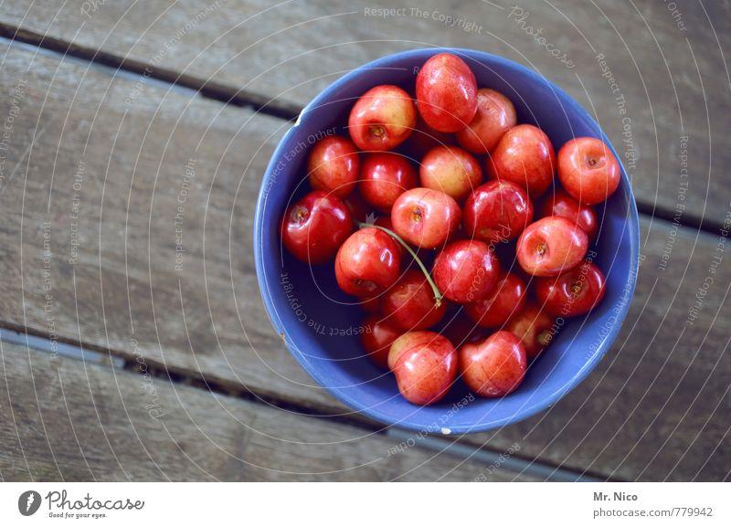 kirschkuchenzubehör Lebensmittel Frucht Ernährung Schalen & Schüsseln Gesundheit Gesunde Ernährung Tisch genießen lecker rot Kirsche frisch natürlich
