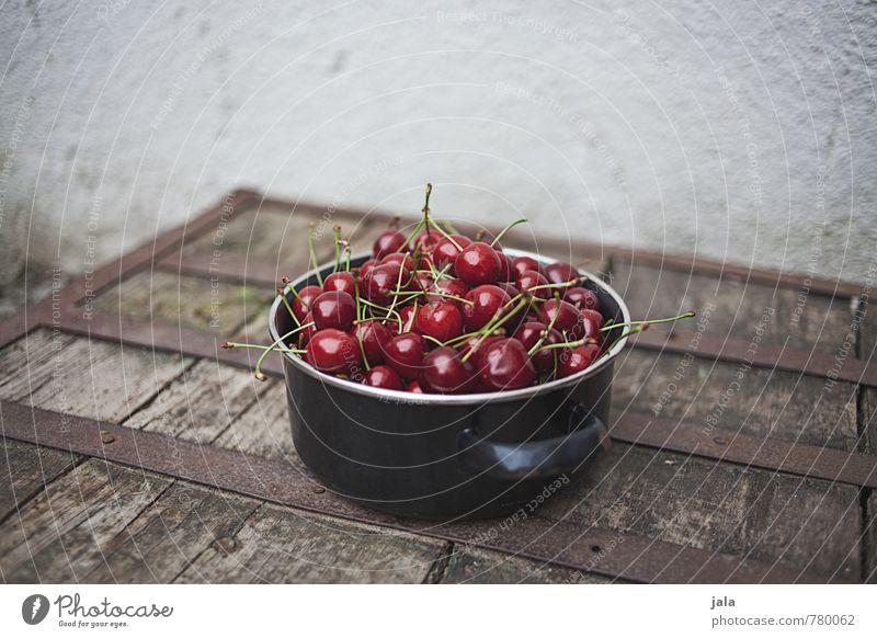 kirschen Lebensmittel Frucht Kirsche Ernährung Bioprodukte Vegetarische Ernährung Topf Gesunde Ernährung frisch Gesundheit lecker natürlich Appetit & Hunger