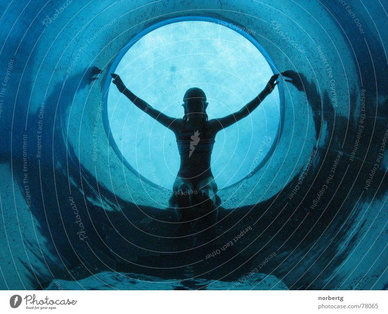 Blue Water Wasser blau nass Schwimmen & Baden Rutsche Spielzeug Wasserrutsche