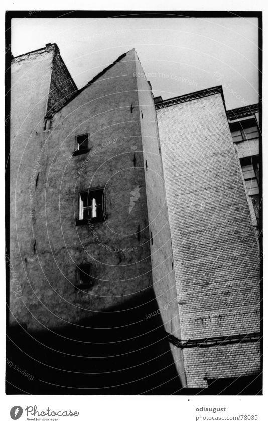 das Fenster Haus Berlin Fenster Stein Fassade Perspektive Putz Altbau