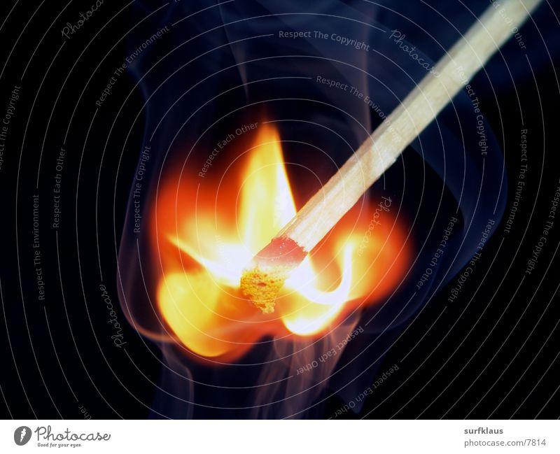 Ignition Rauch obskur Flamme Streichholz Schwefel