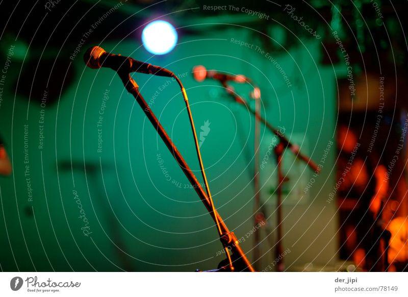 Ready to Rock grün ruhig Wand Spielen Beleuchtung hell Kunst Musik warten Show Kabel Kultur Teile u. Stücke Spiegel türkis Rockmusik
