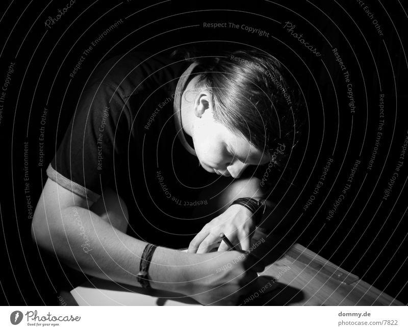 Aigal Mann Mensch Künstler zeichnen kaz
