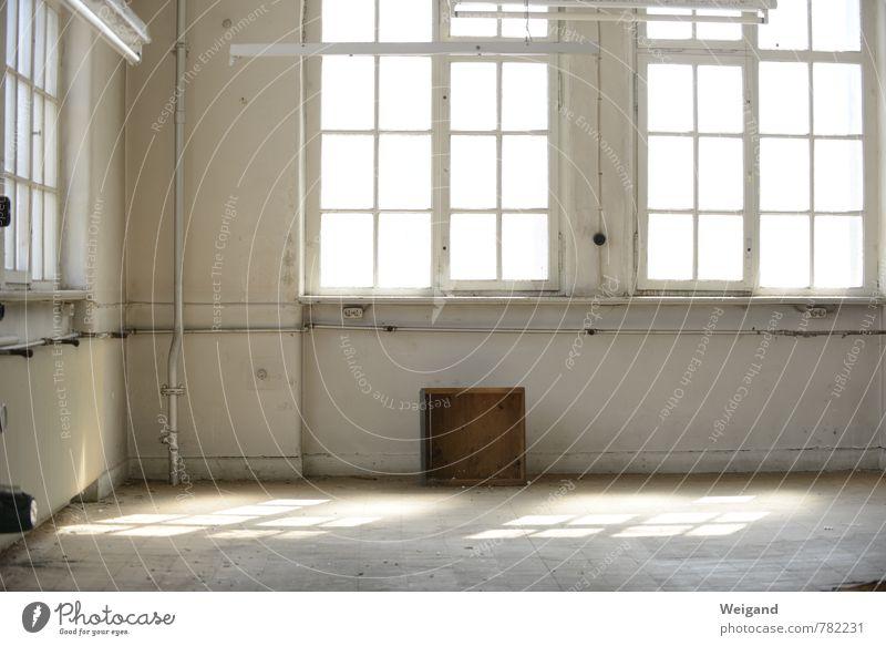 Zimmer frei Stadt Innenarchitektur Autofenster Raum Büro Kreativität Industriefotografie industriell Freiraum Loft