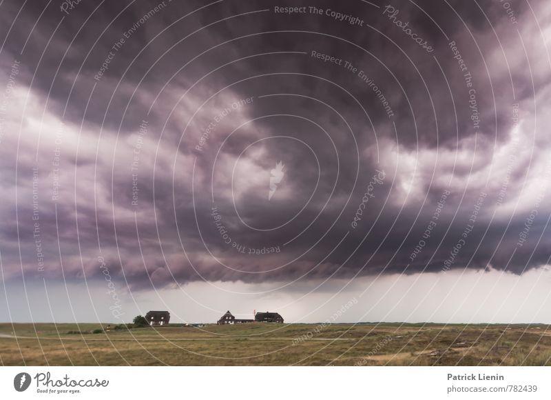 Luft nach oben Himmel Natur Einsamkeit Landschaft Wolken Haus dunkel Umwelt Küste Stimmung Erde Wetter Regen Wind