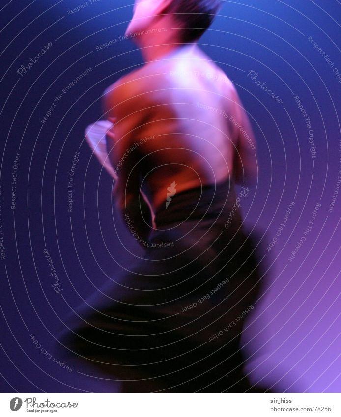 move on Bewegung Show Muskulatur Bühne Varieté Licht Lichtspiel Drehung Kunst Tanzen Dynamik Dance moving stage