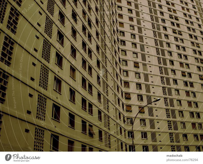 MARSEILLE Himmel Stadt Haus Leben Fenster Architektur Gebäude Arbeit & Erwerbstätigkeit Wohnung Beton Design Hochhaus trist Häusliches Leben Ladengeschäft