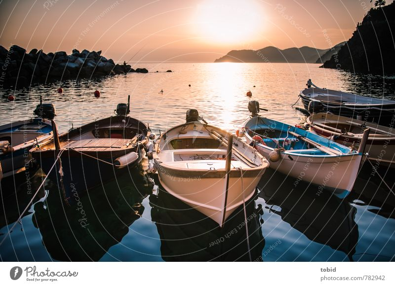 Rowboat Pt. 3 Ferien & Urlaub & Reisen Sommer Sonne Meer Ferne Küste Freiheit glänzend Freizeit & Hobby Wellen Idylle Ausflug Schönes Wetter Bucht Hafen