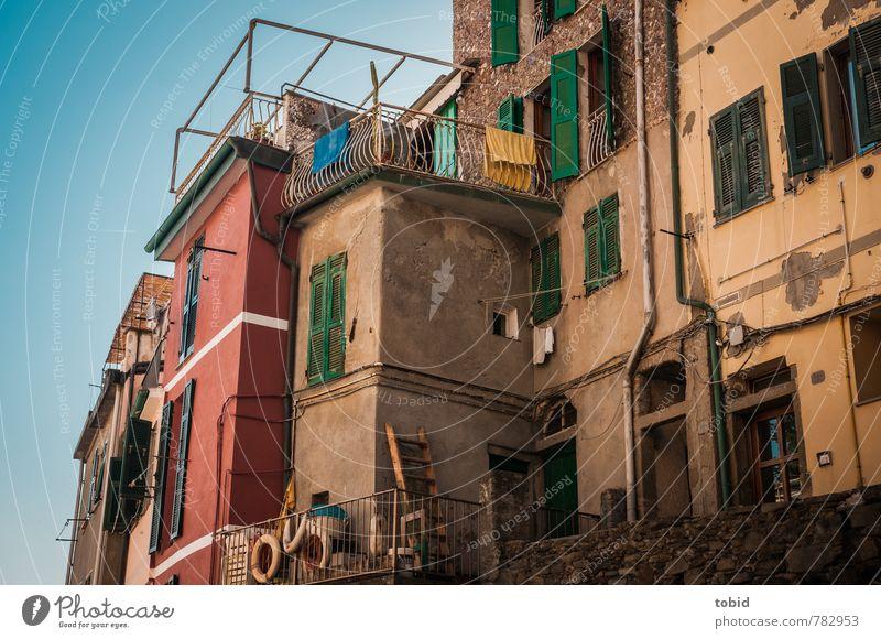 Bella Italia No.1 Ferien & Urlaub & Reisen Tourismus Sightseeing Sommer Häusliches Leben Haus Renovieren Cinque Terre Italien Kleinstadt Altstadt Menschenleer