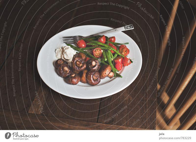 gemüse Gesunde Ernährung natürlich Gesundheit Lebensmittel frisch Ernährung Tisch gut Gemüse lecker Appetit & Hunger Bioprodukte Kot Geschirr Pilz Teller