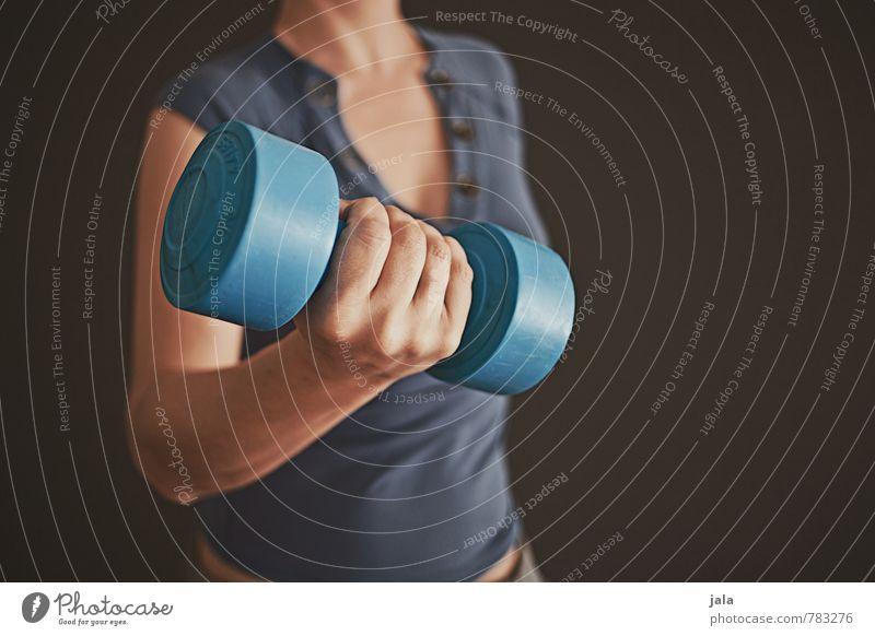workout Gesundheit sportlich Fitness Leben Sport Sport-Training Sportler Hantel Mensch feminin Frau Erwachsene Körper Arme Hand 1 30-45 Jahre ästhetisch gut
