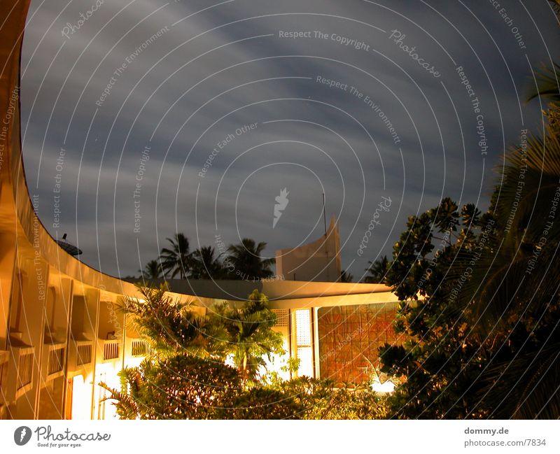 low night Gebäude Nacht Wolken Langzeitbelichtung Dinge kaz