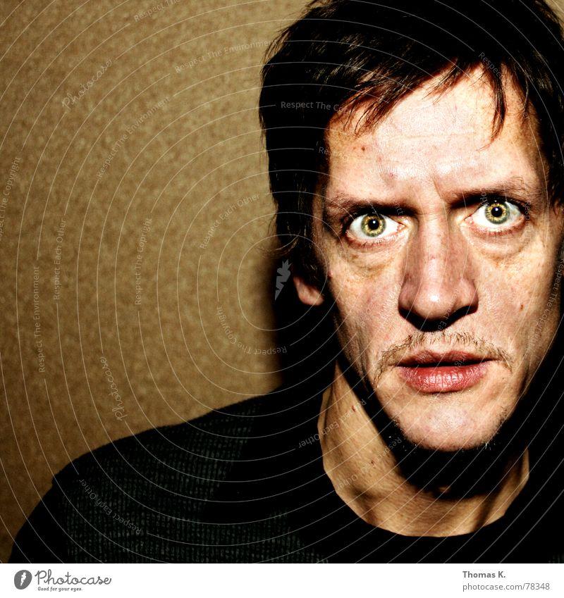 Buscemis Inspiration (oder mein Modell-Favorit) Mensch Mann Auge Stil Haare & Frisuren Kopf Mund Kraft Angst planen Nase verrückt Aktion Bad Krankheit gruselig