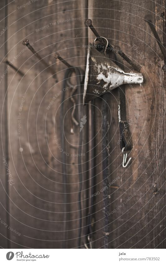 trichter alt natürlich Holz Nagel Holzwand Trichter
