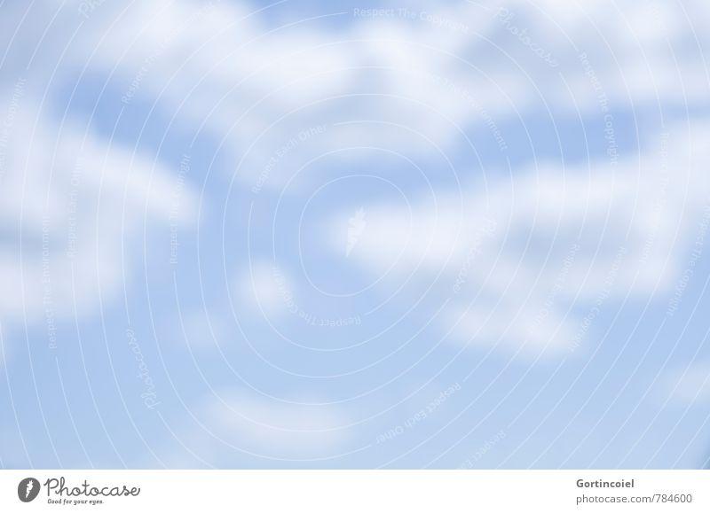Tagtraum Himmel blau weiß Sommer Wolken Wärme träumen Wetter Schönes Wetter Sommerhimmel nur Himmel