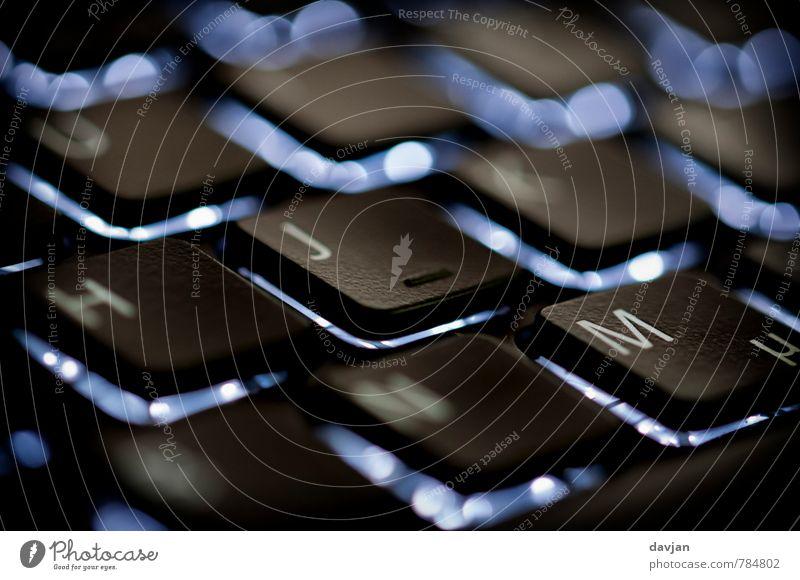 Tipphilfe Notebook Schriftzeichen blau grau schwarz ästhetisch Handel Kommunizieren Leistung Dienstleistungsgewerbe Tastatur Taste Beleuchtung Leuchtdiode