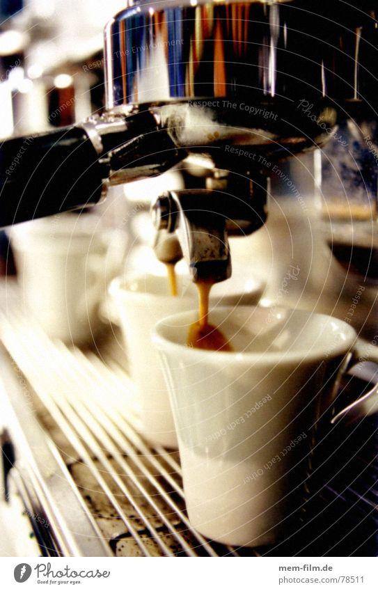 espresso 2 Café Espresso Italien Feinschmecker Lokal Bar genießen heiß braun Ernährung Theke Gastronomie Physik Koffein Rauschmittel Backwaren käffchen Kaffee