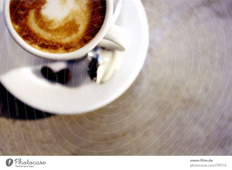 espresso 1 Café Espresso Italien Feinschmecker Lokal Bar genießen heiß braun Ernährung Theke Gastronomie Physik Koffein Rauschmittel genussmensch käffchen