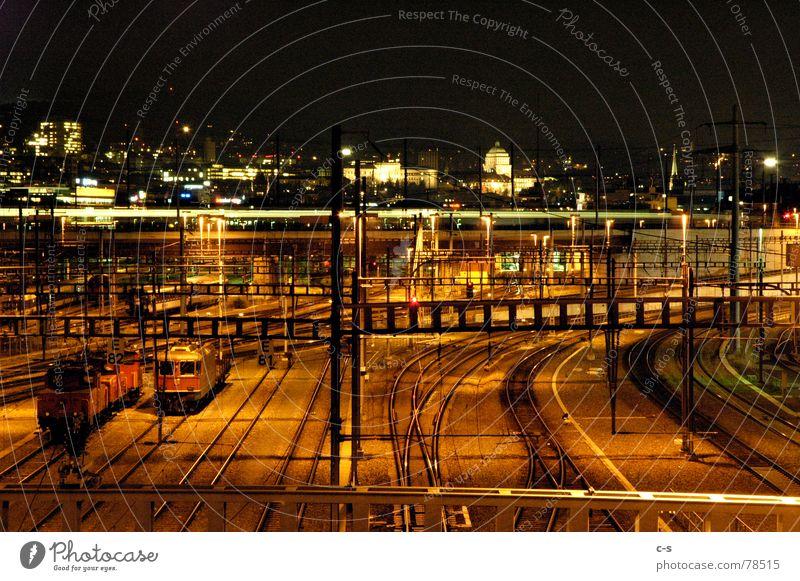 Hardstillstand Verkehr Eisenbahn Gleise Bahnhof stagnierend Zürich Schienenverkehr Hardbrücke