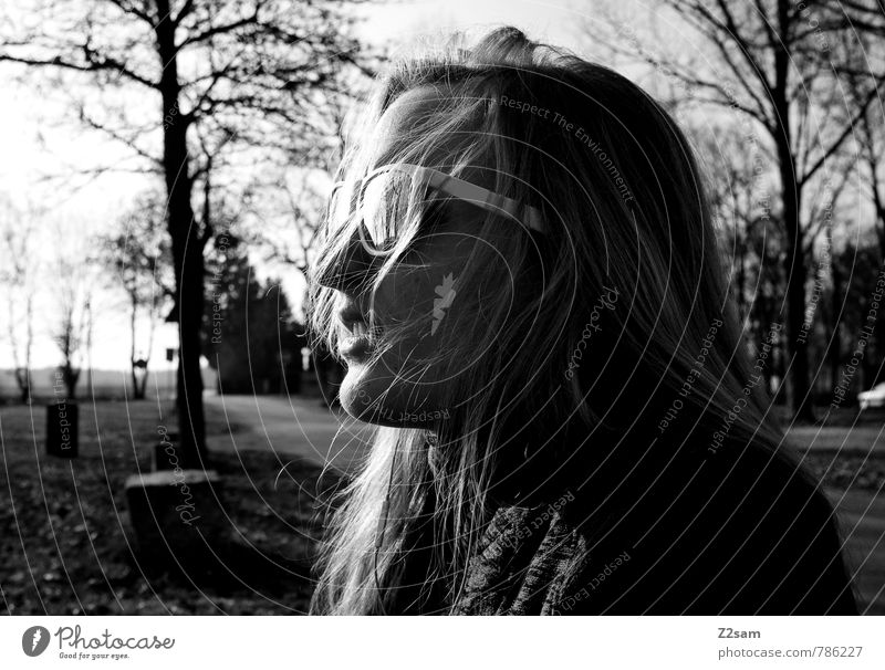 chillerin Mensch Natur Ferien & Urlaub & Reisen Jugendliche Sommer Baum Junge Frau Erholung ruhig Landschaft 18-30 Jahre Umwelt Erwachsene Straße feminin Stil