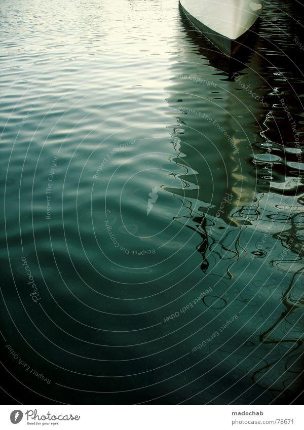 THE BEGINNING Wasser Ferien & Urlaub & Reisen Meer See Wasserfahrzeug Wellen Hafen Anlegestelle Frankreich Oberfläche Provence Jacht Portwein Fischerboot Dock