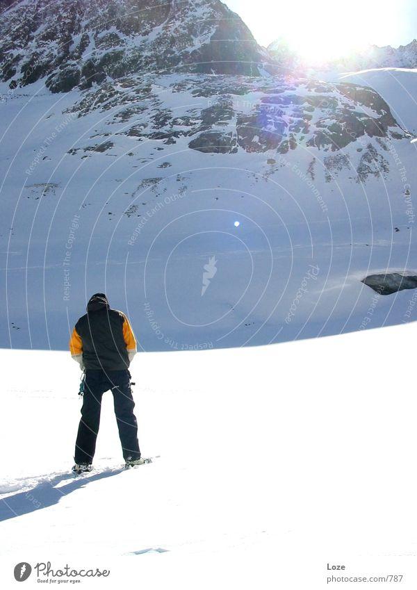 le tour 03 #3 Sonne Schnee Berge u. Gebirge Alpen Gletscher