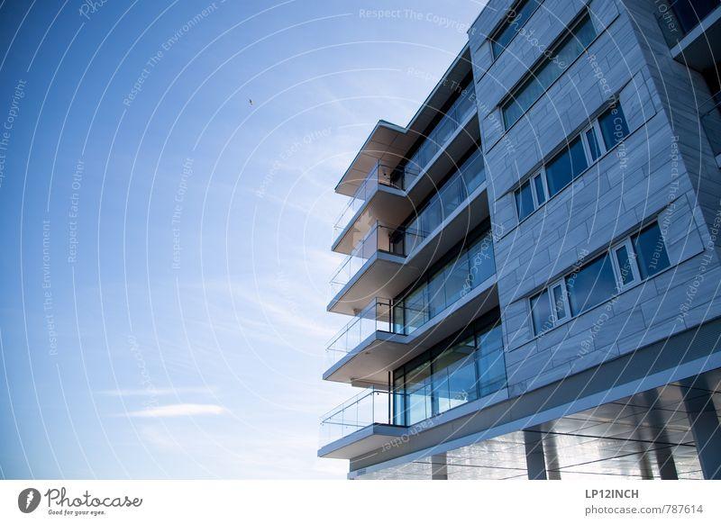 N O R W A Y - oSLo - XI Himmel blau Stadt Wolken Haus Fenster Architektur Gebäude Stil Fassade Häusliches Leben elegant Design Schönes Wetter Aussicht Balkon