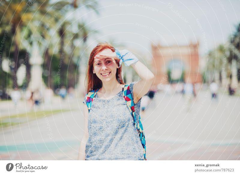Urlaub Mensch Ferien & Urlaub & Reisen Jugendliche Sommer Junge Frau Freude 18-30 Jahre Ferne Erwachsene Leben feminin Freizeit & Hobby Lifestyle Tourismus