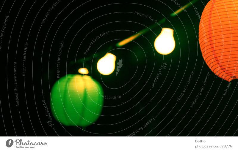 Lalalampions grün schwarz dunkel Party Wärme Lampe orange Feste & Feiern Orange Wind Geburtstag Luftballon Romantik rund Dekoration & Verzierung