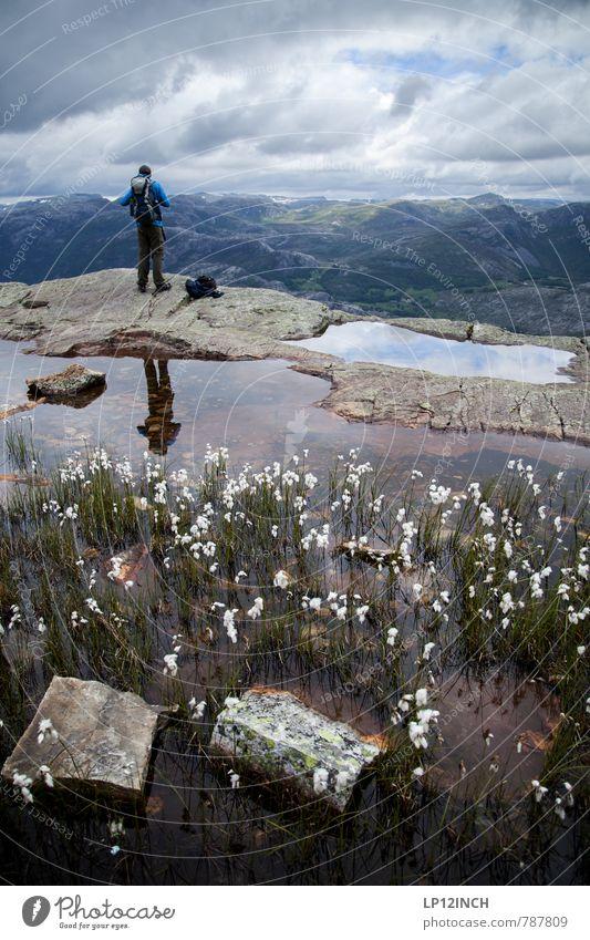 N O R W A Y - Patterson - XIV Mensch Natur Ferien & Urlaub & Reisen Jugendliche Pflanze Wasser Landschaft Wolken 18-30 Jahre Tier Junger Mann Ferne Erwachsene Berge u. Gebirge Sport träumen