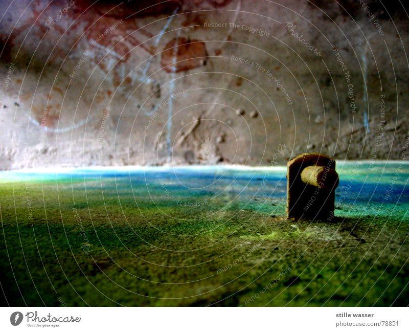 FREMDE WELTEN Farbe Wand Landschaft Erde Beton Horizont Bodenbelag Fleck zerkleinern Farbenspiel