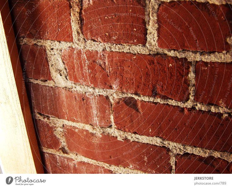 Brick Wall Architektur brick red old Mauer