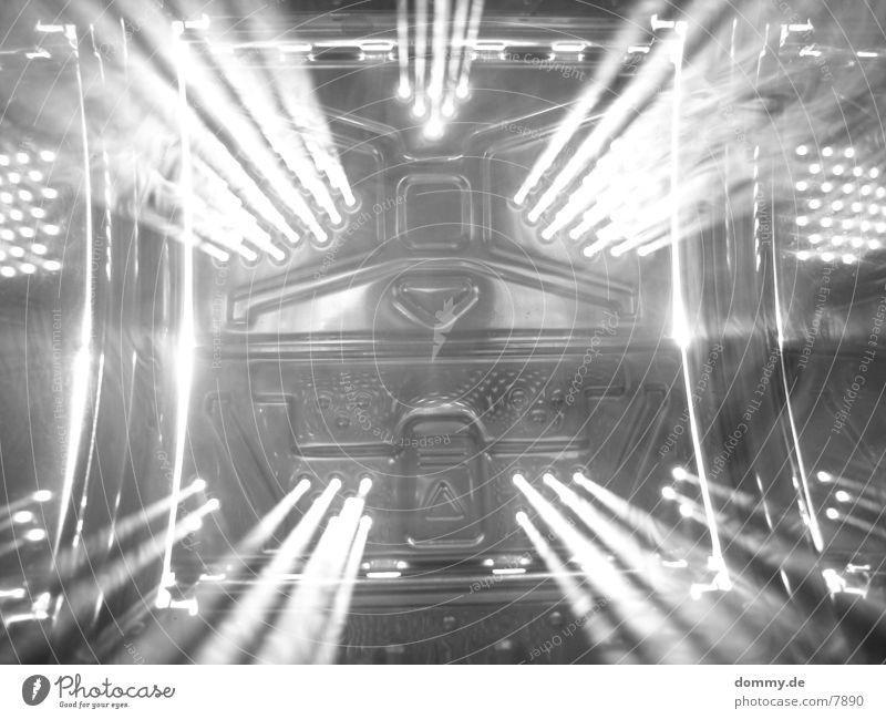 Stargate im Nebel Metall Loch Belichtung Fototechnik