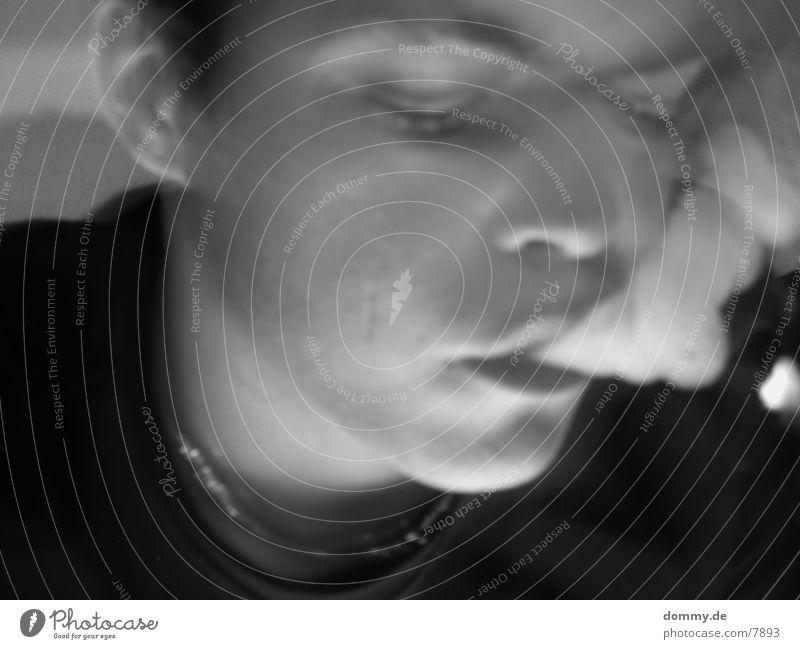 Nightshoot Mann Langzeitbelichtung Mensch Rauch Rauchen Schwarzweißfoto kaz