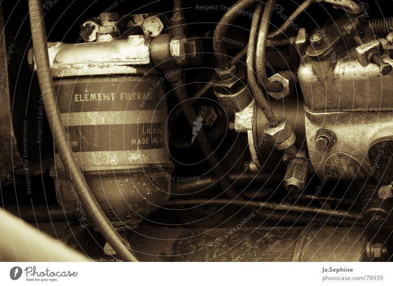 The Element Filtrant alt Metall dreckig Technik & Technologie Kabel Maschine Leitung Motor Schraube Schlauch Mechanik Elektrisches Gerät ölig