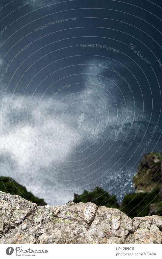 N O R W A Y - 1.981,6 Fuß - X Ferien & Urlaub & Reisen blau Wasser Meer Umwelt Berge u. Gebirge Stein Angst Tourismus wandern hoch ästhetisch Ausflug Aussicht Abenteuer Todesangst