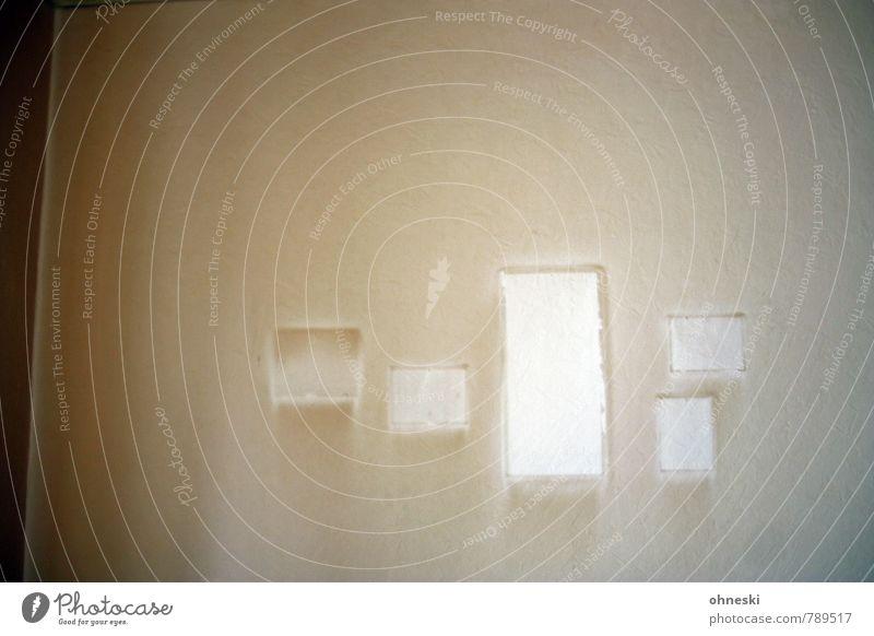 Fototapete Häusliches Leben Renovieren Umzug (Wohnungswechsel) Innenarchitektur Tapete Raum Wohnzimmer Bild Bilderrahmen alt dreckig dunkel trashig braun