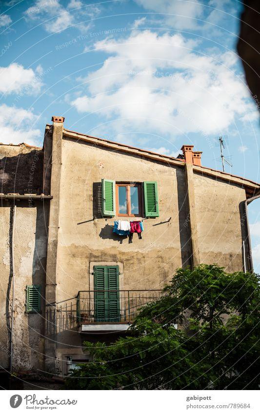 Loro Ciuffenna Ferien & Urlaub & Reisen ruhig Haus Wärme Fassade Zufriedenheit Tourismus Häusliches Leben Vergänglichkeit Italien Fernweh mediterran