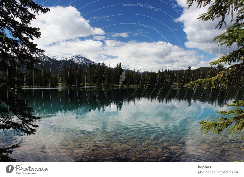 Lac Beauvert Himmel Natur Ferien & Urlaub & Reisen schön Pflanze Wasser Sommer Erholung Landschaft ruhig Ferne Wald Freiheit See Stimmung Tourismus