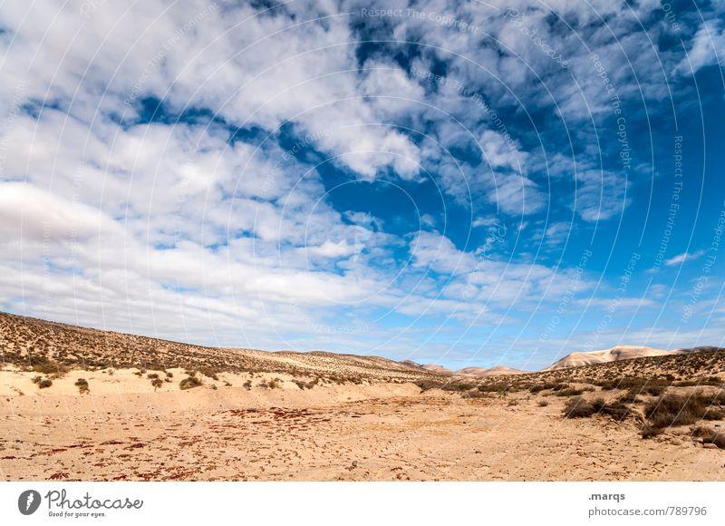 Desert Ferien & Urlaub & Reisen Sommerurlaub Umwelt Natur Landschaft Himmel Wolken Horizont Klima Schönes Wetter Wüste Erholung exotisch heiß trocken Wärme