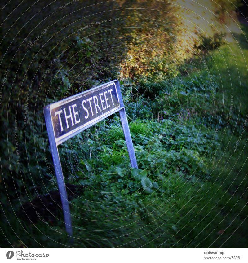 keep it simple Straße England Straßennamenschild Suffolk