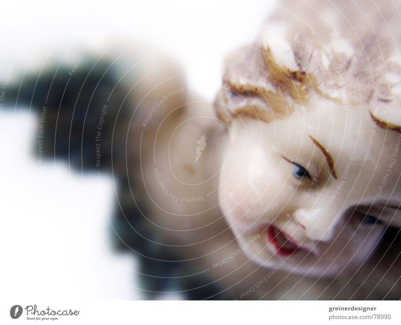 angekratzter Engel 02 festlich gebraucht antik historisch Weihnachten & Advent Flügel alt fliegen Himmel jüngling fest der liebe die flügel hängen lassen
