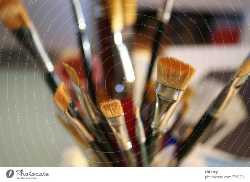 paint me a picture Blumenstrauß Kunst Kunsthandwerk brushes pot synthetic hair artist tools painting