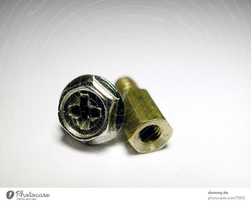 ungleichesPAAR    Part.2 gold paarweise Handwerk silber Schraube gleich Zwilling