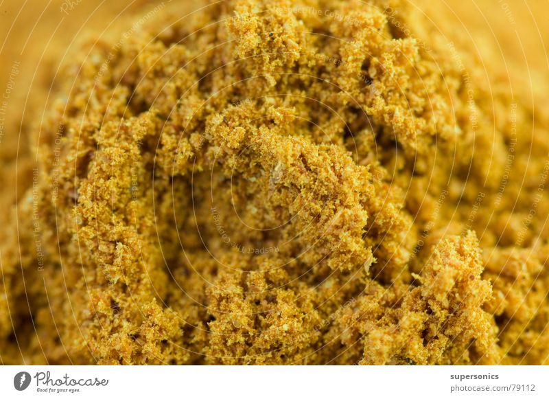 Gold Kräuter & Gewürze Indien gelb Curry niedlich Gastronomie indische küche thailändische küche essen zubereiten gold