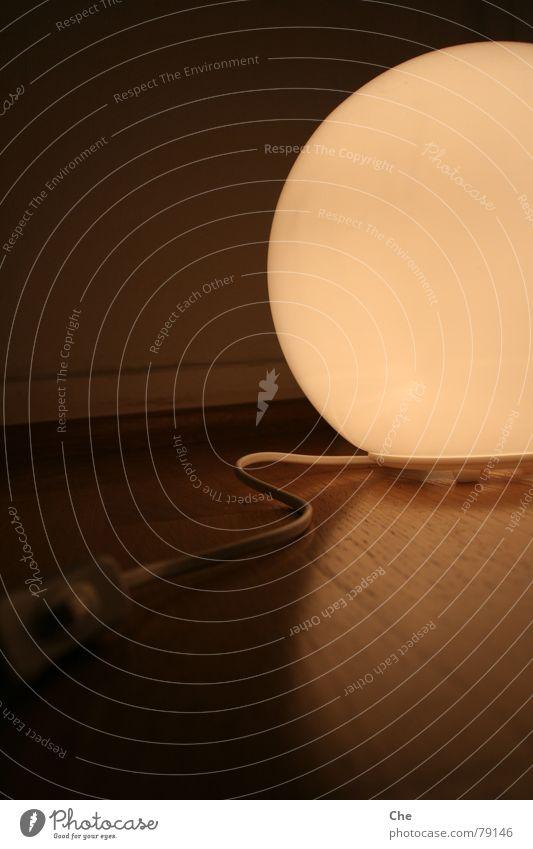 Die Sonne hat einen Schalter! schwarz Lampe dunkel Wand Gefühle Wege & Pfade hell Kreis Elektrizität Ball rund Romantik Kabel Dekoration & Verzierung Sauberkeit rein