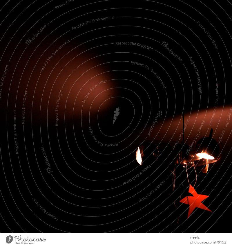 | LEUCHT kleiner stern | rot Lampe Feste & Feiern Stern (Symbol) Starruhm