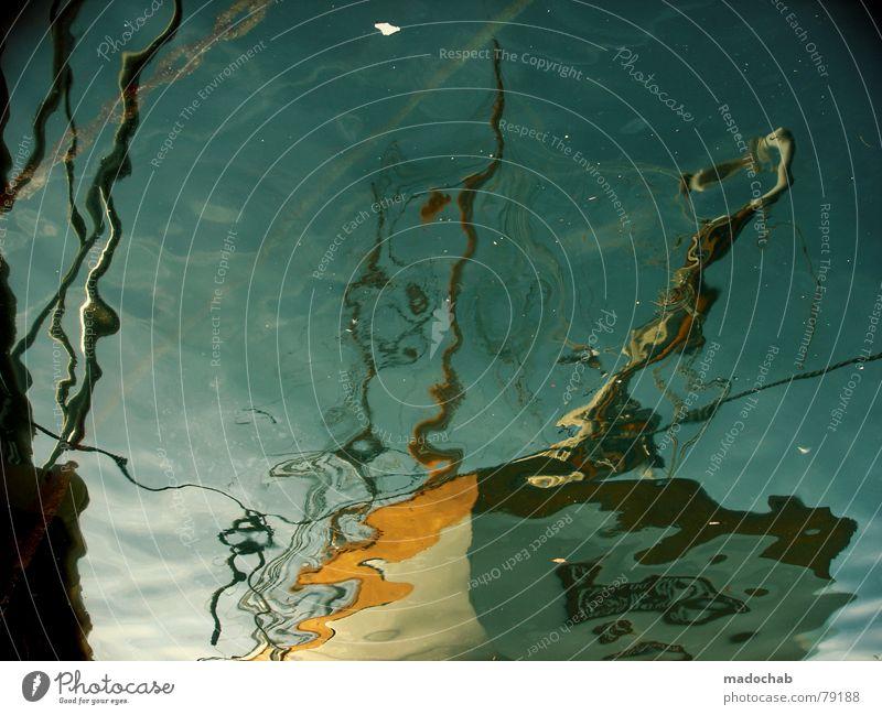 LIQUID PIRACY Wasser Ferien & Urlaub & Reisen Meer See träumen Wasserfahrzeug Wellen Hafen Gemälde Teile u. Stücke Anlegestelle Frankreich durcheinander Surrealismus Oberfläche graphisch